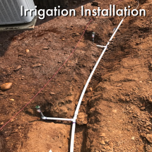Irrigation Installation