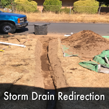 Storm Drain Redirection